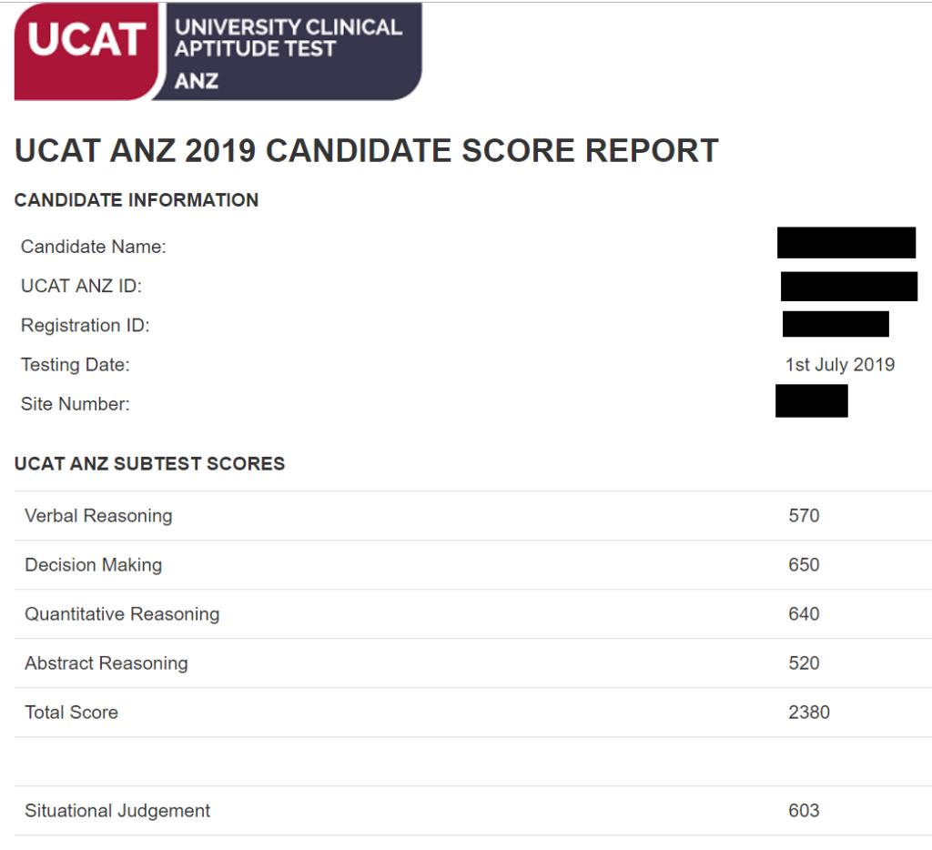 Example-UCAT-Score-Report