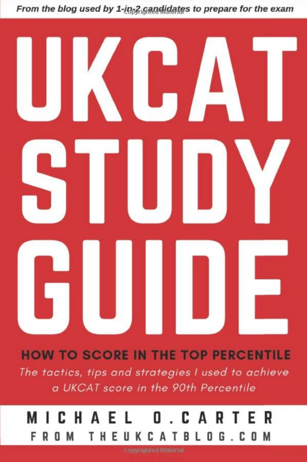 UCAT book study guide