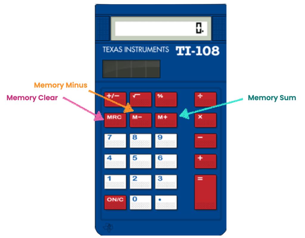 Memory on UCAT Calculator