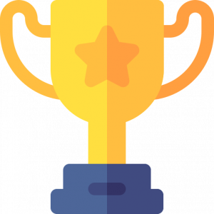GAMSAT trophy cartoon